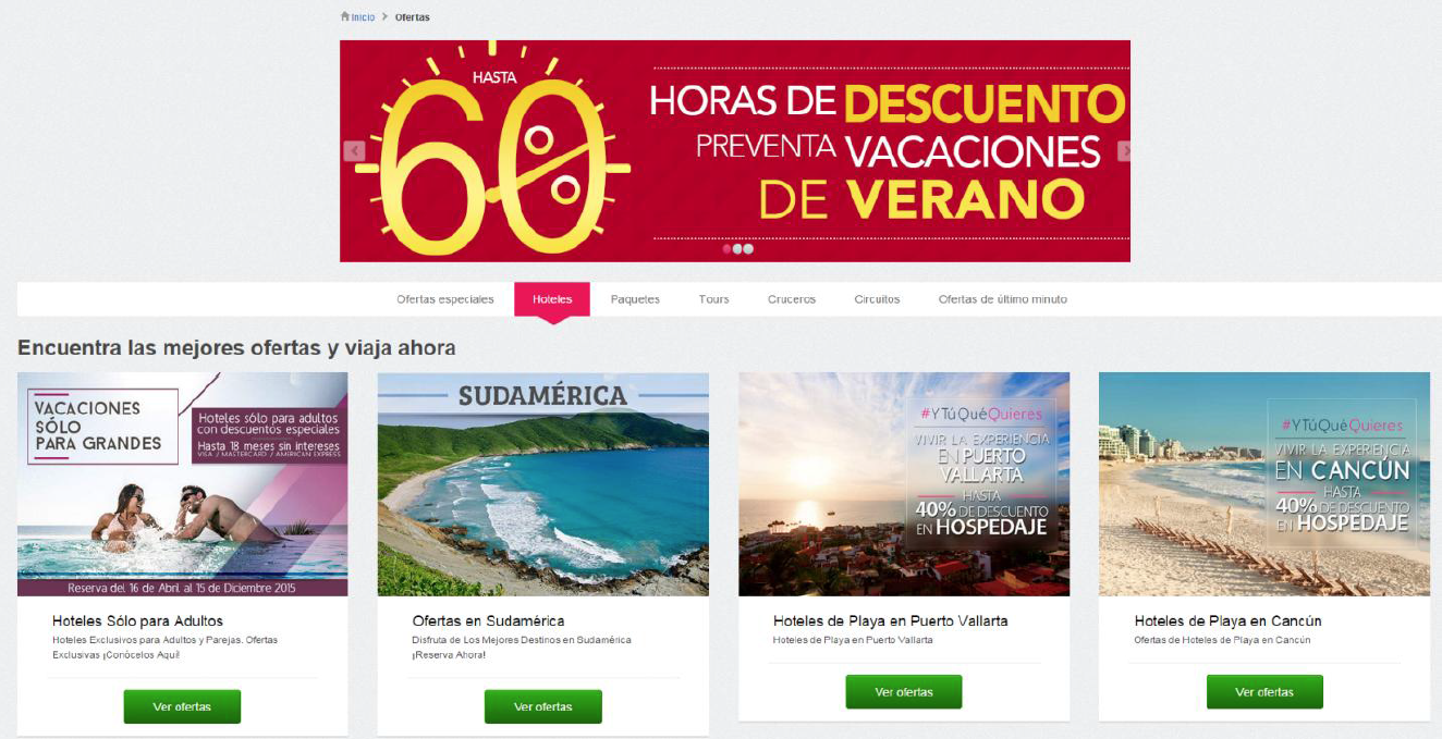 Landing Page A Price Travel